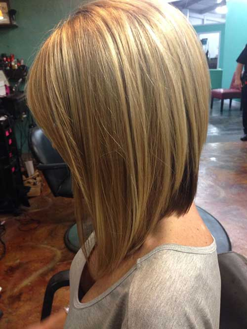 Girls layered haircut